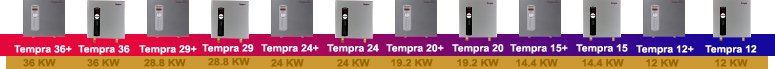 Stiebel Eltron Tempra Series Tankless Water Heater Models